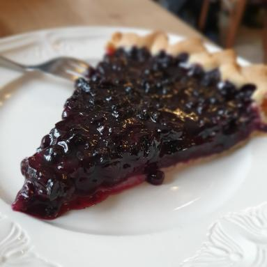 photo tarte aux myrtilles
