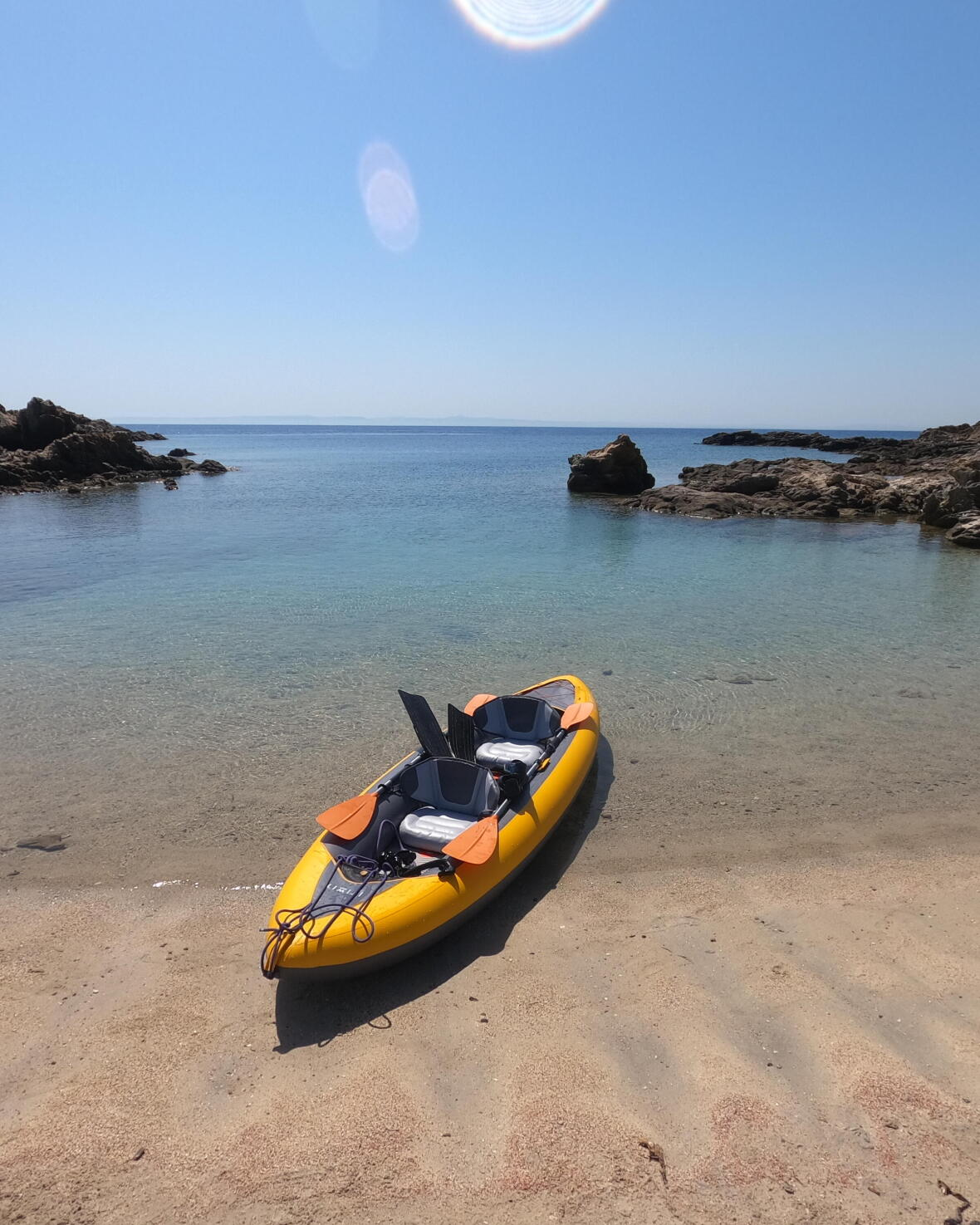 kayak gonflable annexe voilier