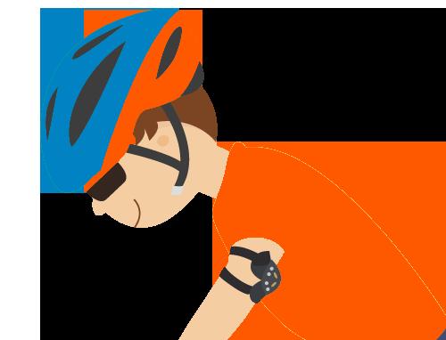 佩戴頭盔四部曲:調較頭盔的鬆緊