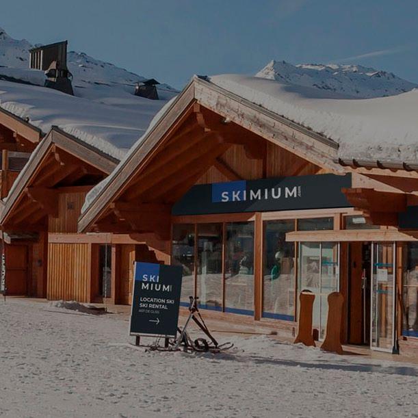 Decathlon - Ski Lyon - location station