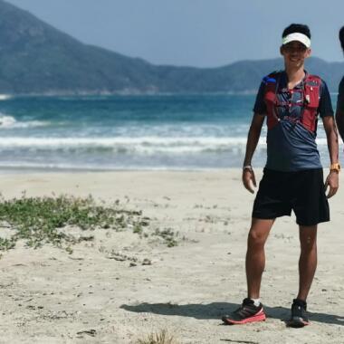 三項鐵人好手潘永成、謝偉雄 成功挑戰「香港超鐵260」