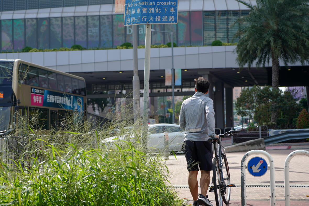 CYCLING | TEST RIDE ON NEW CYCLE ROUTE BETWEEN SHEUNG SHUI AND YUEN LONG