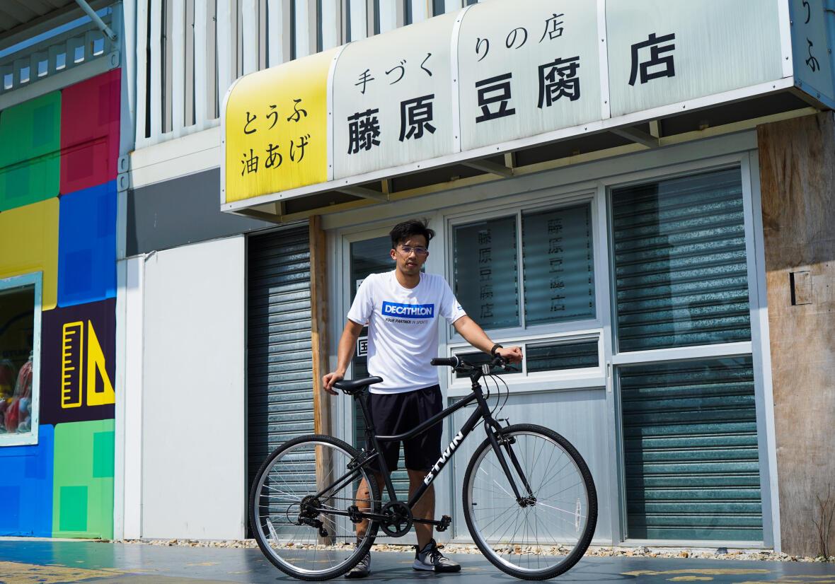 超級單車徑 - 可選擇踩入新田購物城