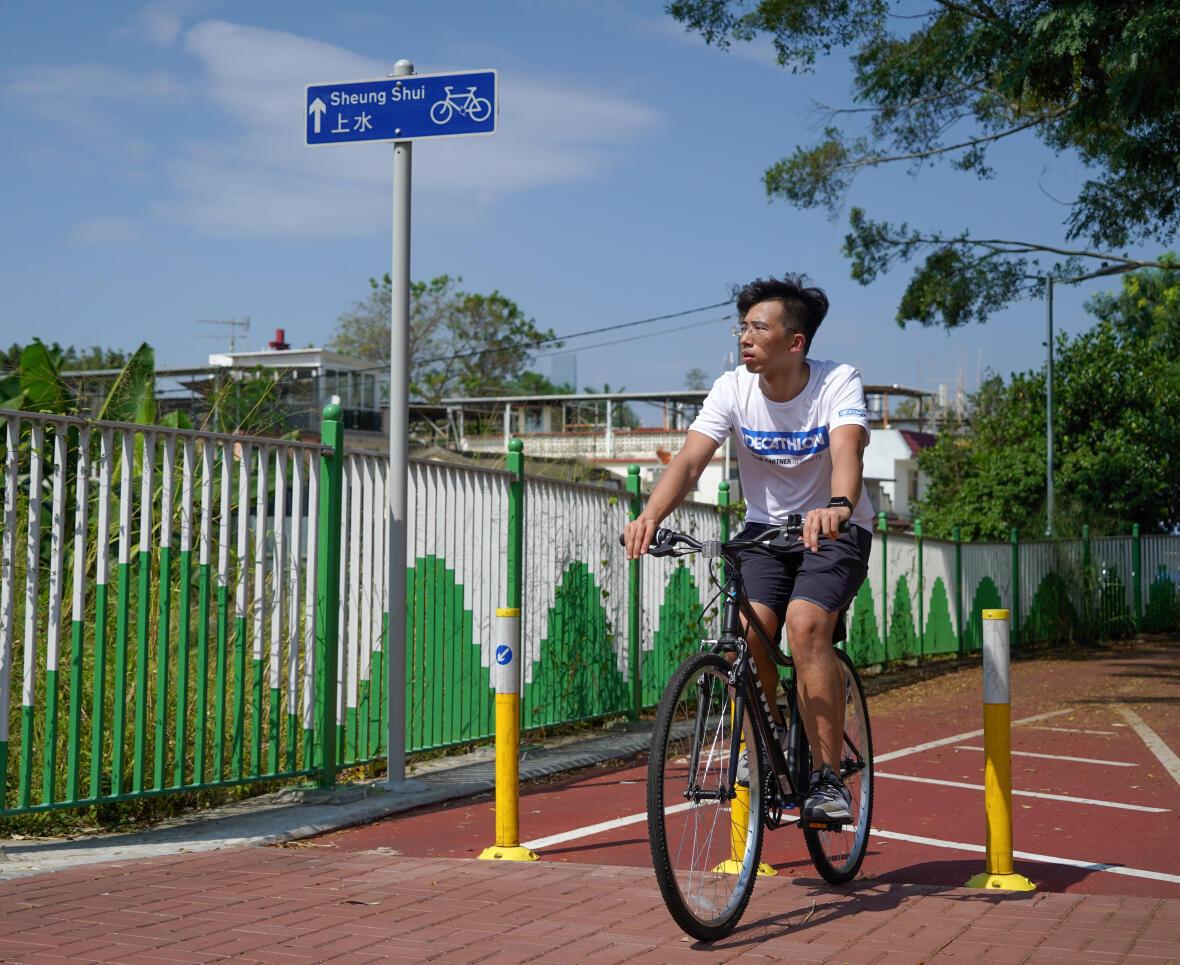 超級單車徑 - 單車路段多斷開