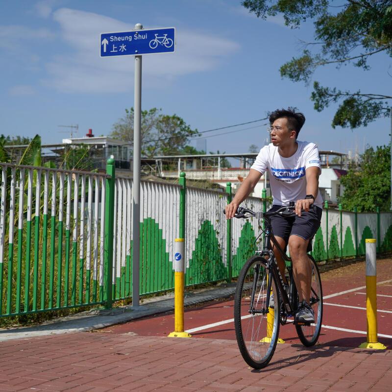 Hong Kong New Cycle Route Between Sheung Shui and Yuen Long