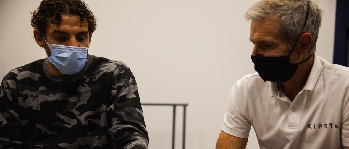 François Xavier et Jean Louis Leca