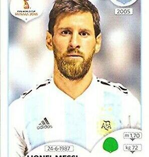 Messi Panini