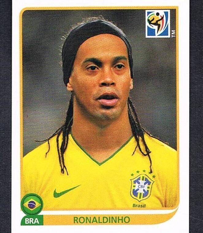 Ronaldinho panini