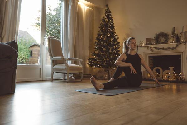 Fitness für zuhause-Kategorie-Foto