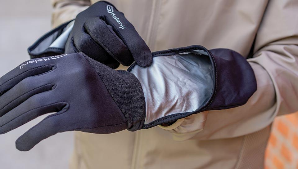 gants bonnets running