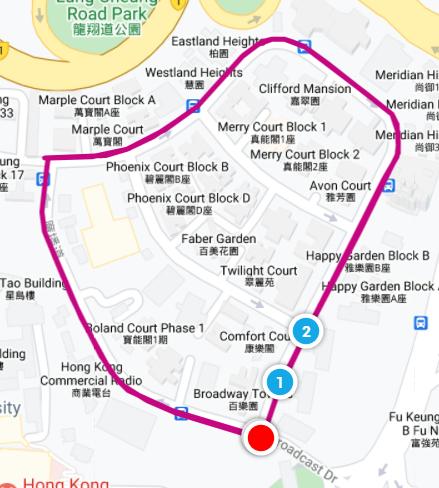 Sporty Christmas fun run - bell route