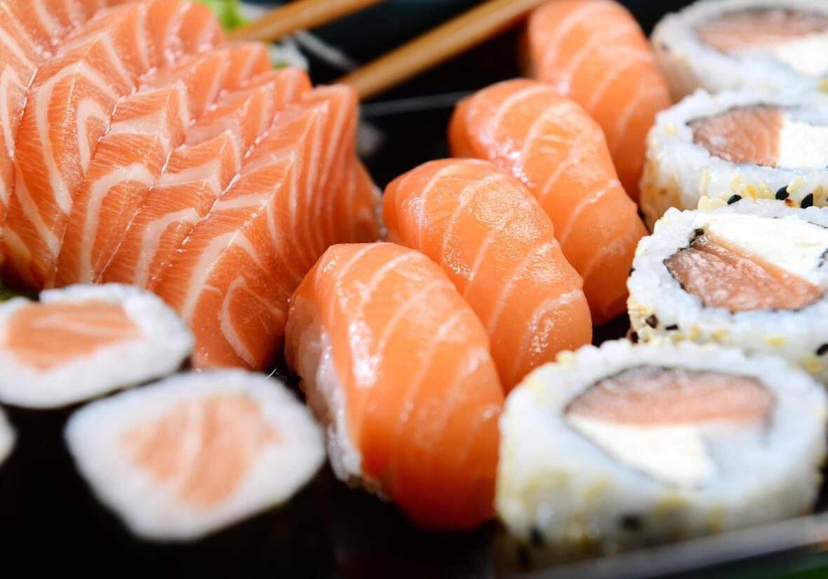 Ces aliments faux-amis sushis