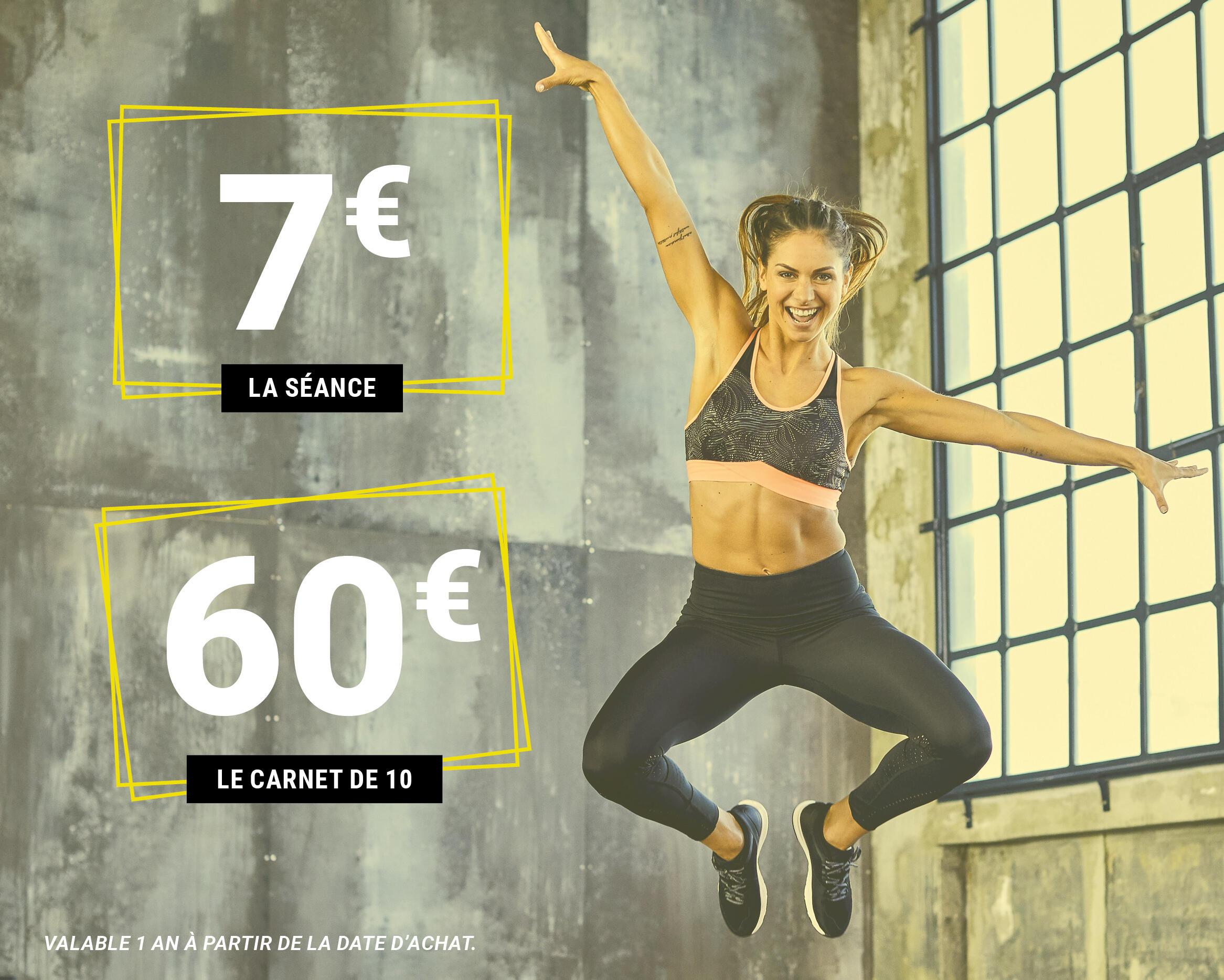 tarifs séance domyos fitness club