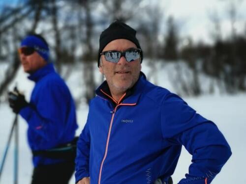 Philippe ski-roues