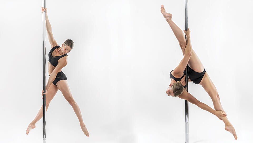Tenue pole dance, short pole dance, brassière pole dance