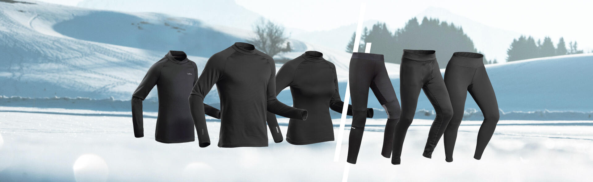 | SKI THERMAL BASE LAYERS