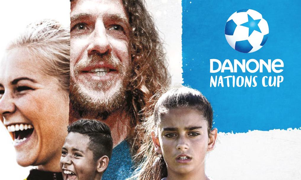 DECATHLON KIPSTA partenaire de la DANONE NATION'S CUP