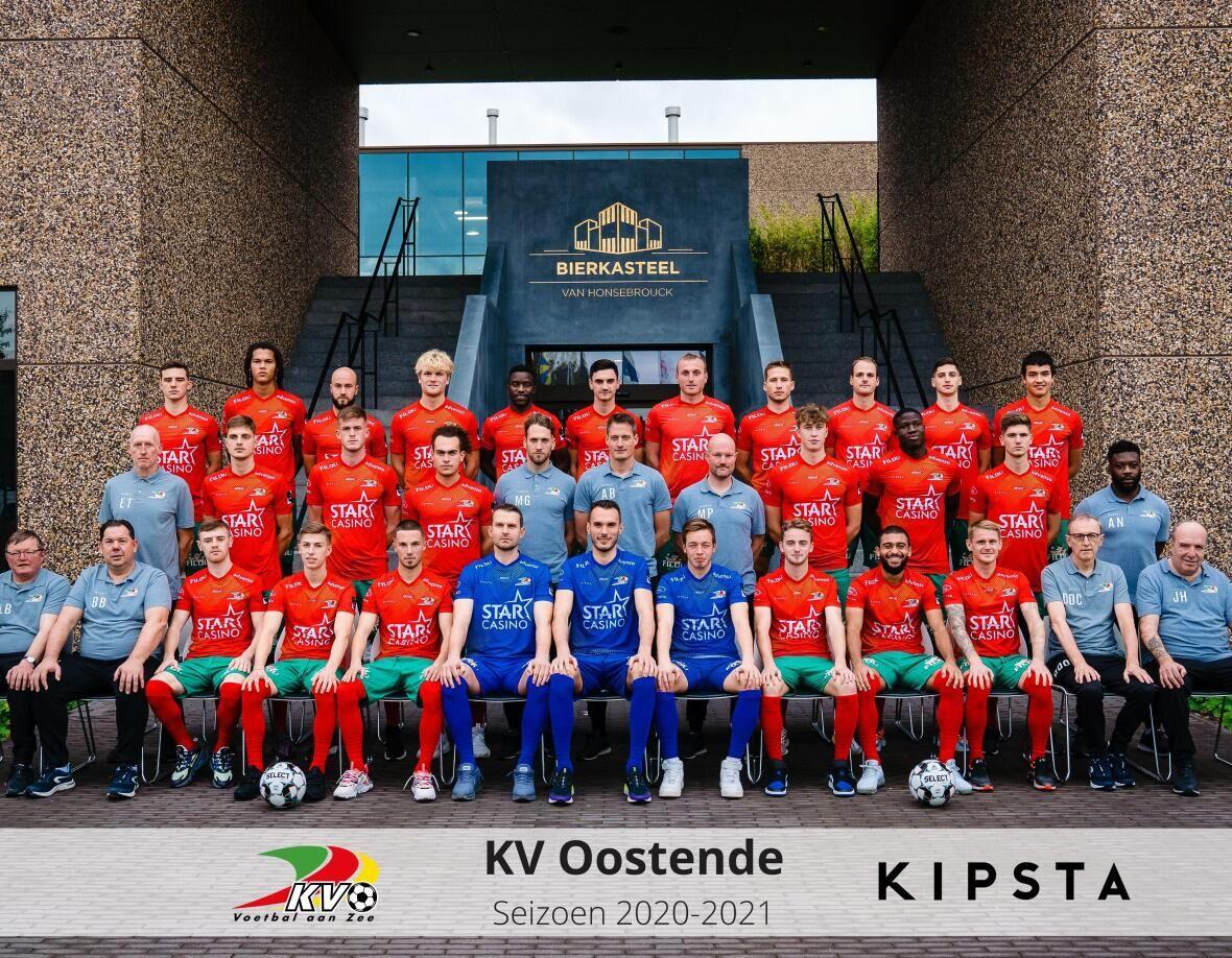 KIPSTA, a partner with KV Oostende