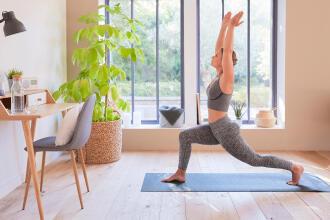 thuiswerken yoga