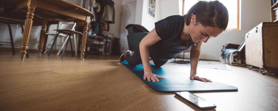 8 exercices avec des haltères - Ma routine fitness