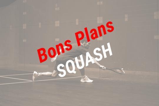 bons plans squash