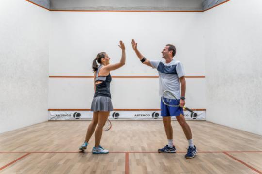 Squash racket sets
