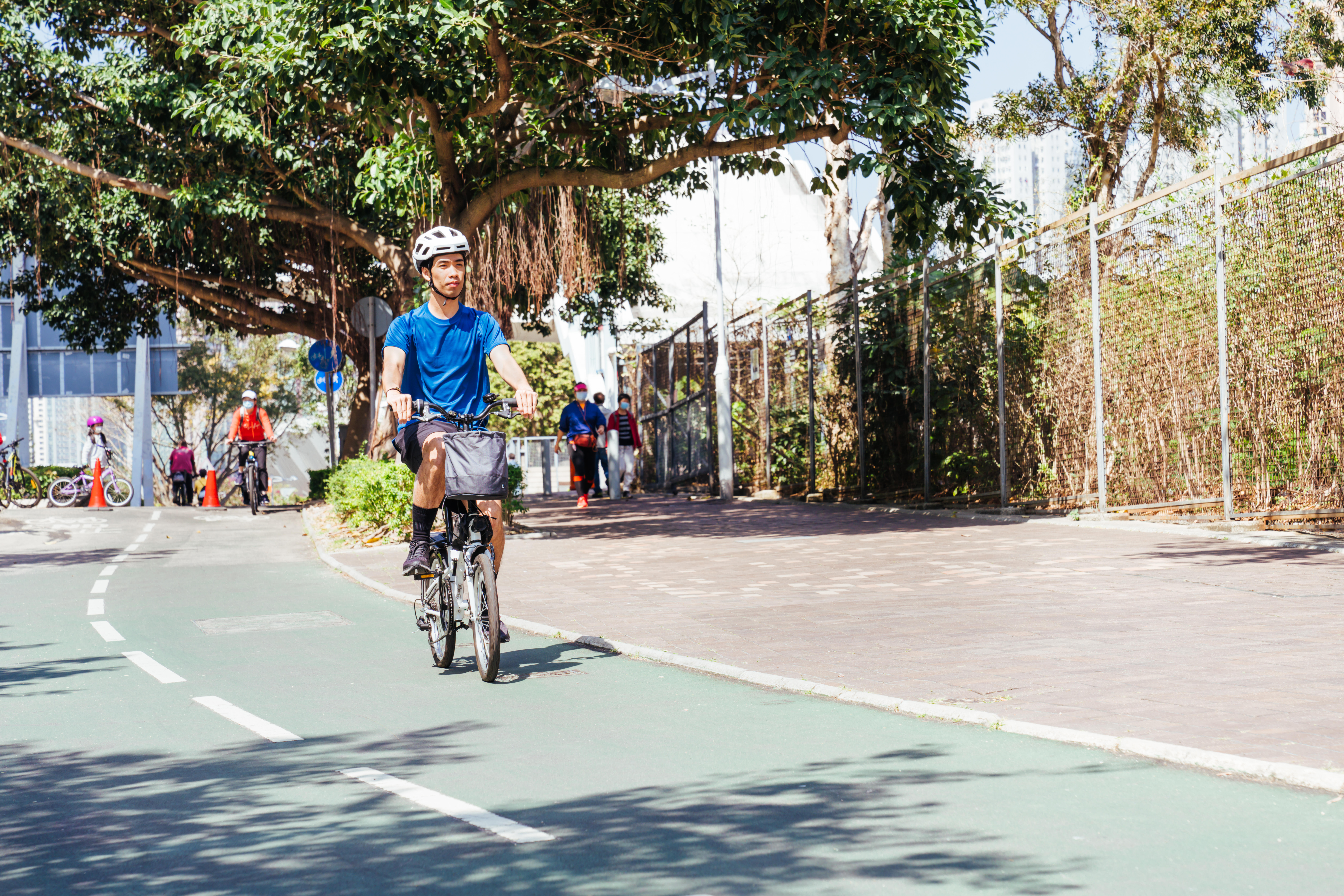 Biking can help you to improve your physical and emotional health