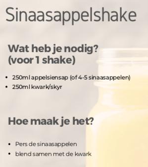 Recept: Sinaasappelshake