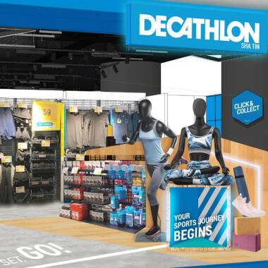 DECATHLON兩間新店進駐沙田新城市廣場及馬鞍山新港城中心