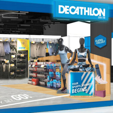 DECATHLON GRAND OPENING IN SHA TIN AND MA ON SHAN