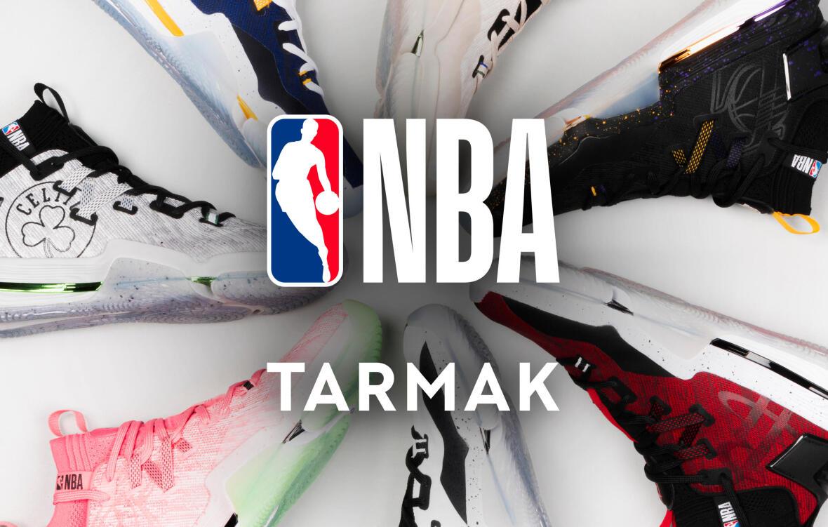 Wanneer Decathlon en Tarmak officiële partners worden van de NBA