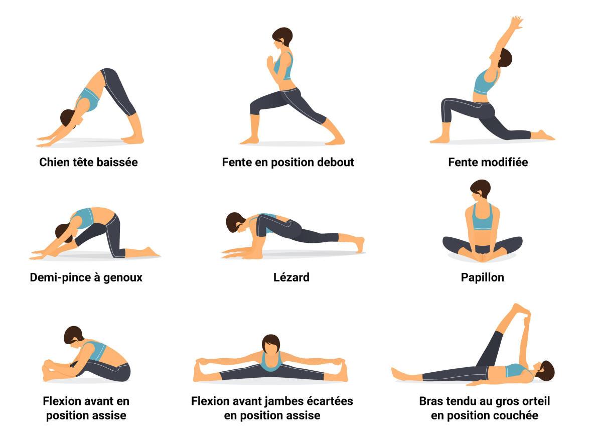 Routine de yoga pour coureurs