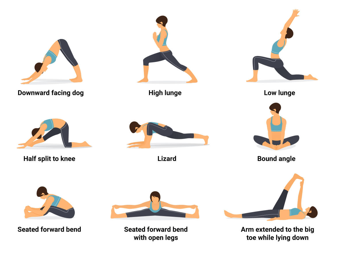 Yoga routine for runners