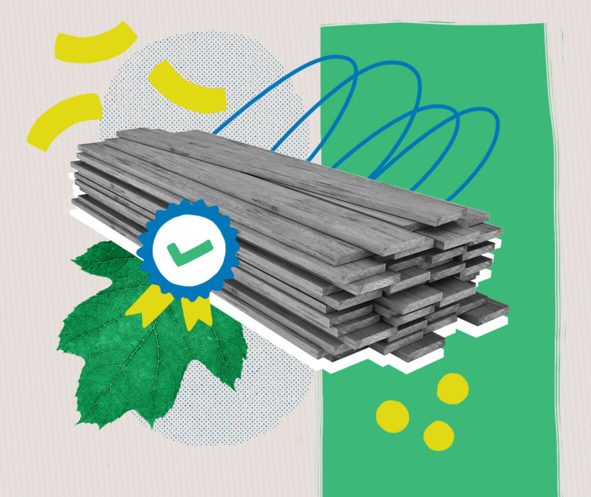 Le bois dans la conception de produits