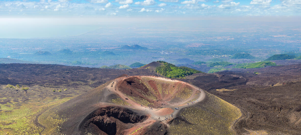 Travelling in Italy, Etna National Park