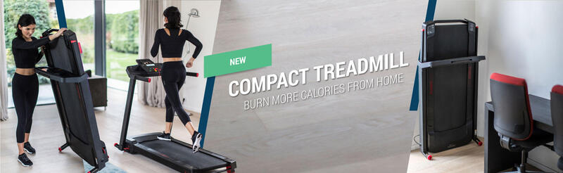 Compact treadmill Burn more calories from home