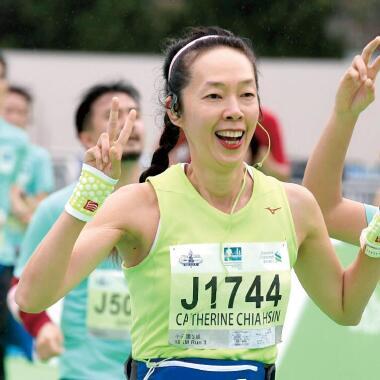 【跑步女生大使】堅持令我驕傲