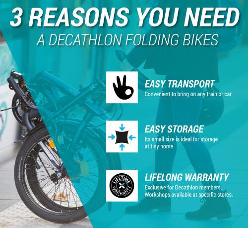 Folding bike benefits