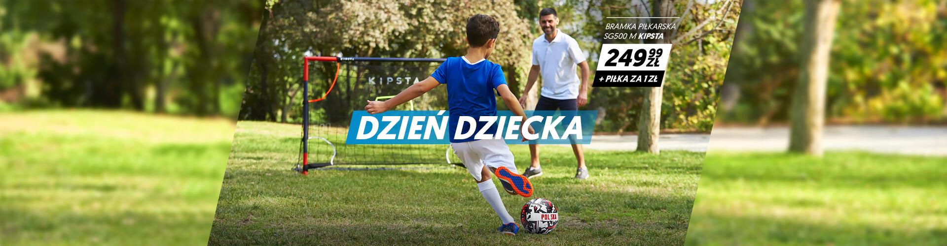 Dzień dziecka - zestaw do piłki nożnej bramka i piłka