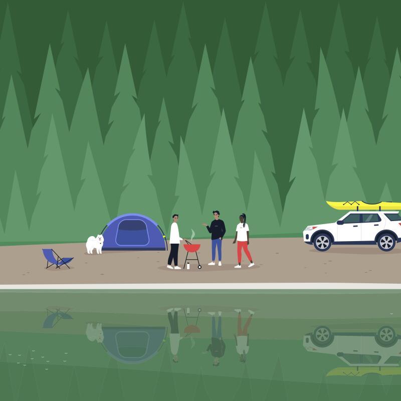 Micro-aventure : j'irai pédaler près de chez vous