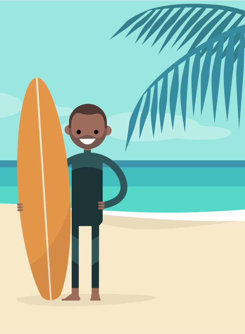 Surf, ski, running : trois sports au défi du changement climatique