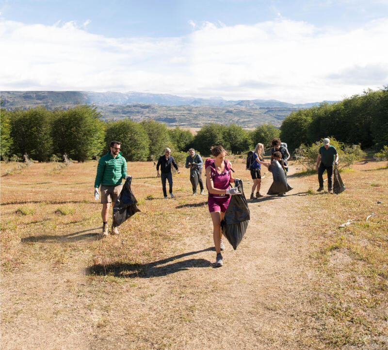 ECO-HIKING: hiking to help keep our trails clean