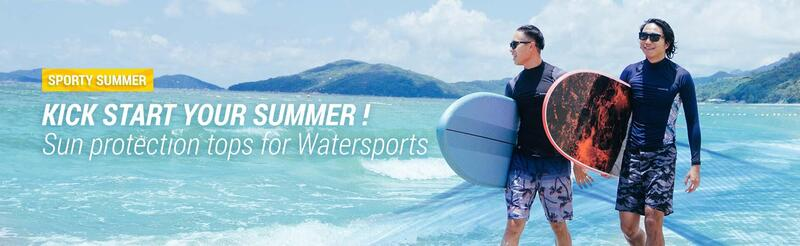 KICK START YOUR SUMMER Sun protection tops for Watersports