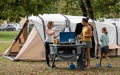 Collezione campeggio