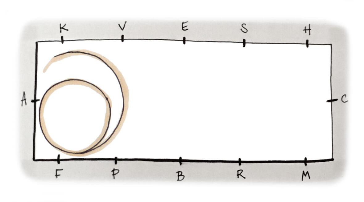 La spirale en équitation