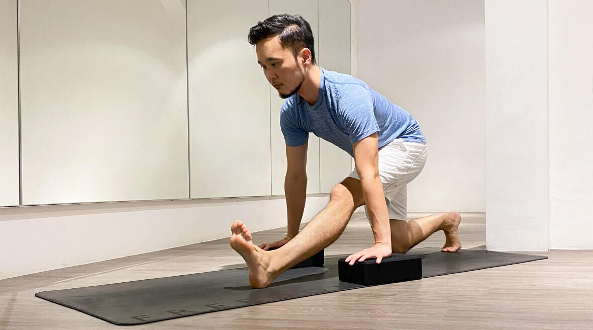 Running Alongside Yoga by Shao Jie Ang (Freedom Yoga)