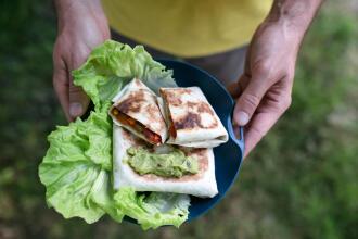 recette wrap mexicain