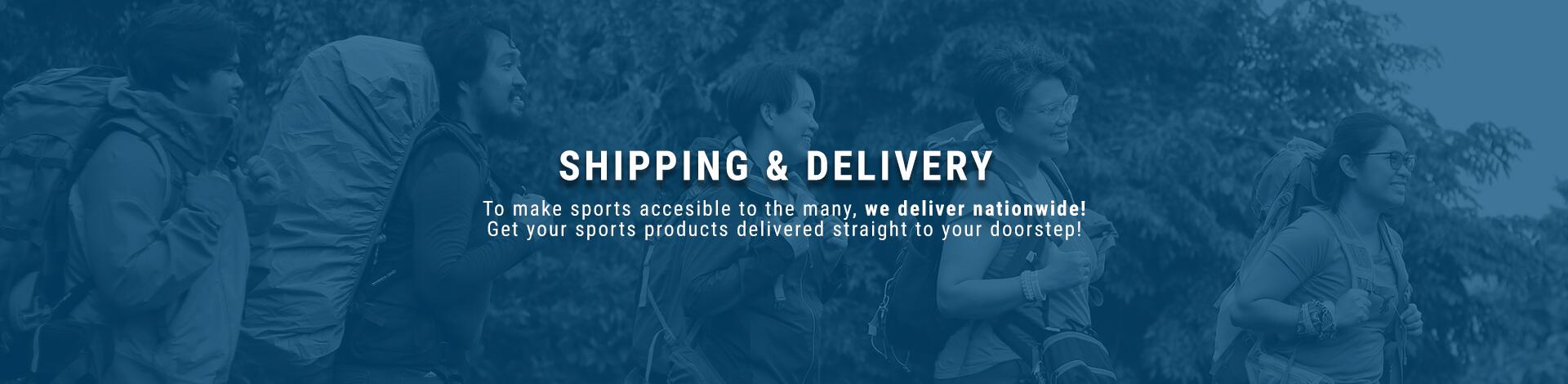 Decathlon Philippines Shipping and Delivery