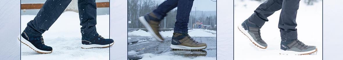 Snow Contact : Des semelles de chaussures pour la neige