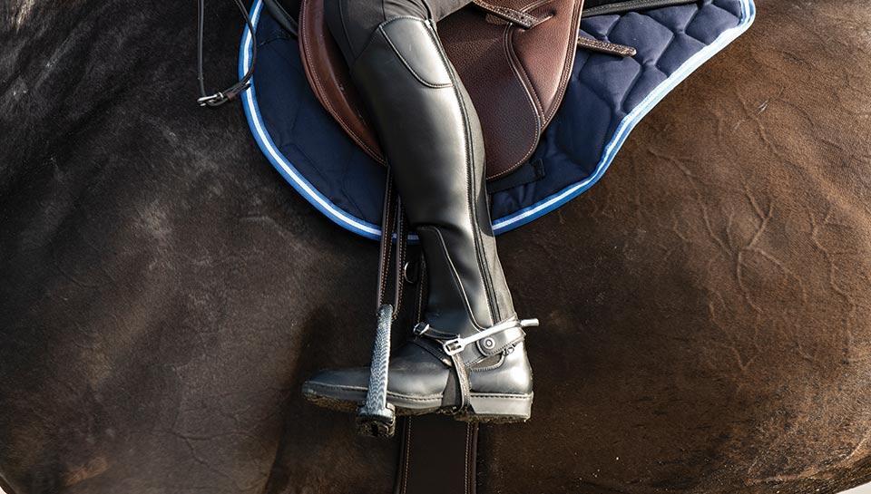 bottes equitation